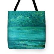 Sea Blue Tote Bag