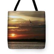 Sea Bright Sunset Tote Bag