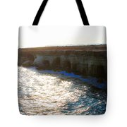 Sea Caves Tote Bag