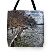 Sea Cliff Walk Tote Bag