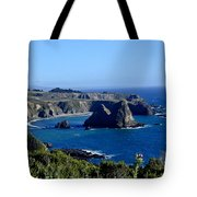 Sea Coast Of Northern California Tote Bag