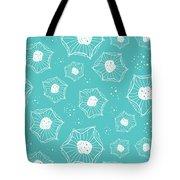 Sea Flower Tote Bag