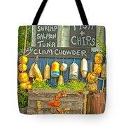 Sea Food Tote Bag