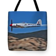 Sea Fury Fly-by Tote Bag