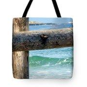 Sea Gate Tote Bag