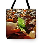 Sea Glass And Shells 16 10/2 Tote Bag