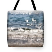Sea Glitter Tote Bag