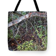 Sea Grape Jungle Tote Bag