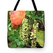 Sea Grapes And Poison Ivy Tote Bag