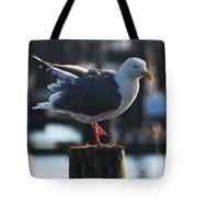 Sea Gull On Break Tote Bag