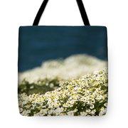 Sea Mayweed And The Sea Tote Bag