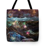 Sea Monsters And Horror Fish  Tote Bag