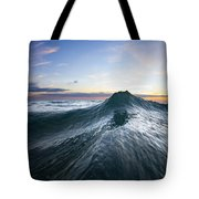Sea Mountain Tote Bag by Sean Davey