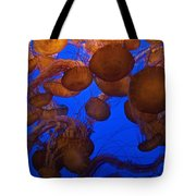 Sea Nettle Jellyfish Tote Bag