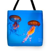 Sea Nettles Tote Bag by Anthony Sacco