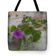 Sea Oat Purple Tote Bag