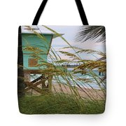 Sea Oats And The Tower Tote Bag