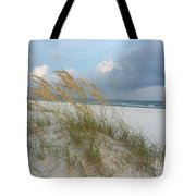 Sea Oats  Blowing In The Wind Tote Bag