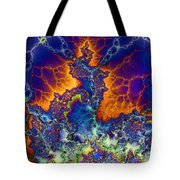 Sea Of Creativity Tote Bag by Elizabeth McTaggart