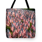 Sea Of Flags Tote Bag