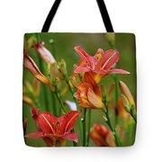 Sea Of Lilies Tote Bag