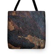 Sea Of Rust Tote Bag by Fran Riley