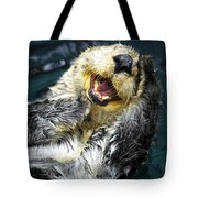 Sea Otter  Tote Bag