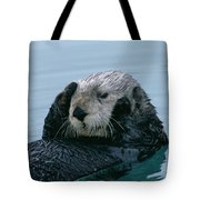 Sea Otter Grooming Tote Bag