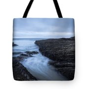 Sea Path Tote Bag