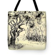 Sea Path Tote Bag