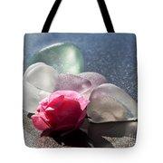 Sea Rose Tote Bag by Barbara McMahon