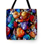 Sea Shell Abstract Tote Bag