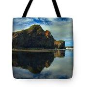 Sea Stack Swirls Tote Bag
