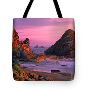 Sea Stacks Clearing Storm Harris State Beach Oregon Tote Bag