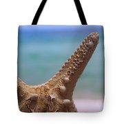Sea Star And Ocean Tote Bag