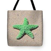 Sea Star - Green Tote Bag by Al Powell Photography USA
