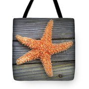 Sea Star On Deck 2 Tote Bag
