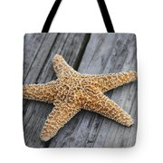 Sea Star On Deck Tote Bag