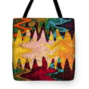 Sea Star Parade Tote Bag