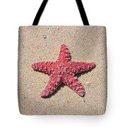 Sea Star - Red Tote Bag