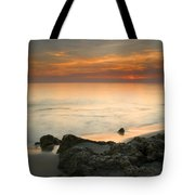 Sea Sunset Tote Bag