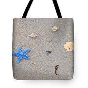 Sea Swag - Light Blue Tote Bag by Al Powell Photography USA