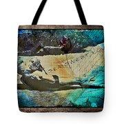 Sea Swept Love Tote Bag