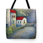 Sea Terrace Tote Bag