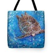 Sea Turtle Mr. Longevity Tote Bag