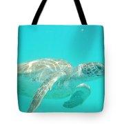 Sea Turtle Time Tote Bag