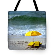 By The Sea Waiting For Me Tote Bag