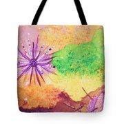 Sea Urchins - Abstract Tote Bag