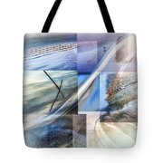 Sea Water Art Tote Bag