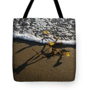 Sea Weed And A Wave Tote Bag